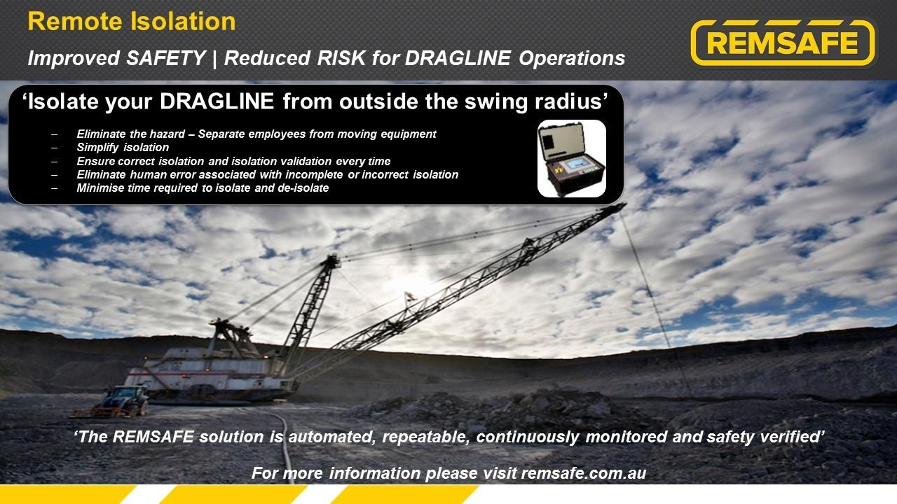 Improved SAFETY | Reduced RISK for DRAGLINE Operations